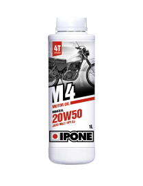 Engine oil Ipone M4 Mineral 20W50 1L - 4L