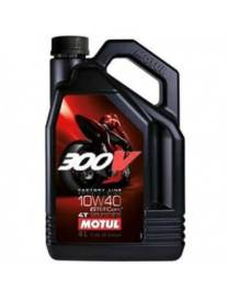 Motul 300V 10W40 Oil Factory line road racing - 4 Liters