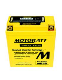 Batterie Motobatt MB5U 7Ah / 120x60x130mm