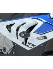 Aero crash protectors (Uppers) BMW HP4 / S1000RR 12/14 (no drill)