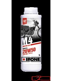 Huile moteur Ipone M4 minerale 20W50 1L - 4L