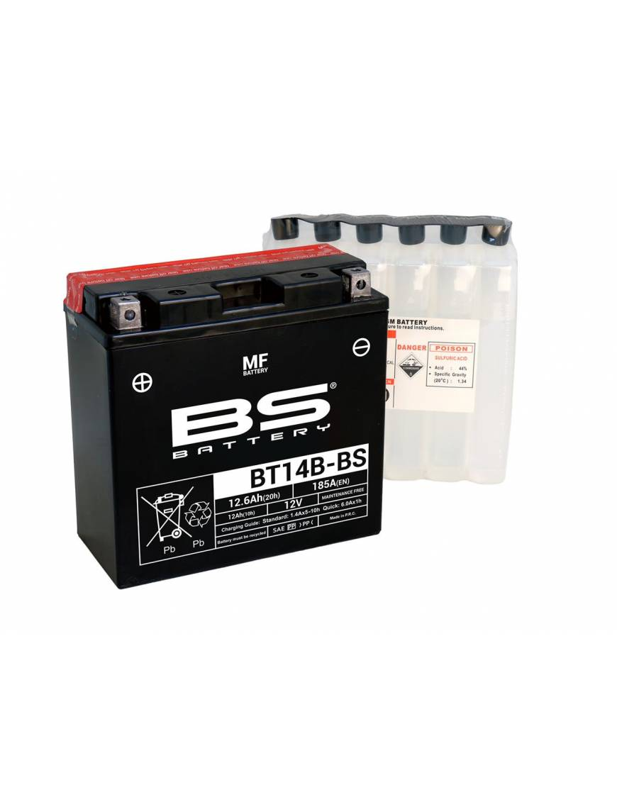 Batterie BS BT14B-BS 10Ah 12V