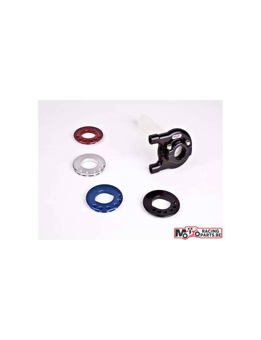 Throttle grip ROBBY MOTO TYPE 2 Blue