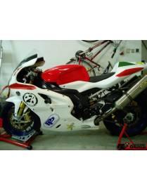 Kit carénages piste 3 pièces Motoforza Aprilia RSV1000 2004 à 2009