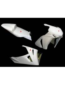 Fairings kit 3 parts Motoforza Honda CBR1000RR 2008 to 2011
