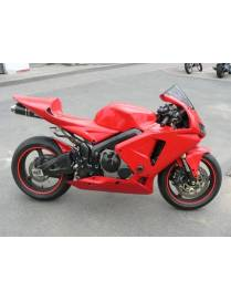Selle racing fermée polyester Motoforza Honda CBR600RR 2005 à 2006