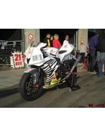 Tête de fourche polyester Motoforza Honda CBR600RR 2007 à 2008