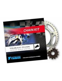 Chain sprocket set Tsubaki - JTHonda VFR800F1 W/X/Y/1  RC46 98-01