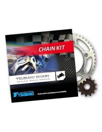 Kit pignons chaine Tsubaki / JT Suzuki DR125S Raider   85-94