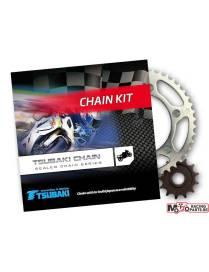 Chain sprocket set Tsubaki - JTSuzuki DR125SE R t/m Y   94-00