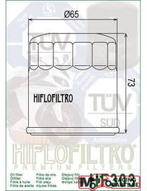 Oil filter Yamaha HF303