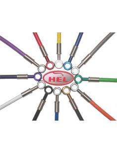 Brake hoses kit HEL racing - 3 lines