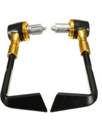 Protects levers Clutch + Brake handlebars Ø22mm - Gold