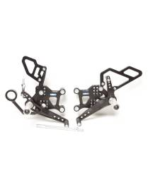 Commandes reculées PP Tuning BMW S1000R (2009-2014)