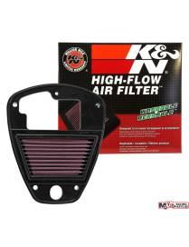 Air filter K&N racing Kawasaki VN900 2006 to 2017