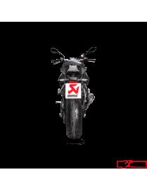 Akrapovic Slip-On Hexagonal Titanium BMW S1000 R 2017 à 2018