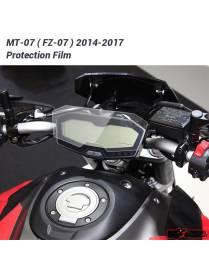Vitre de protection ecran compteur Yamaha MT-07 / FZ-07 2014 à 2017
