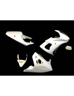 Fairings kit 3 parts Motoforza Yamaha YZF-R6 2003 to 2005