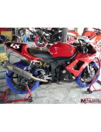 Kit carénages piste 3 pièces Motoforza Yamaha R6 2003 à 2005