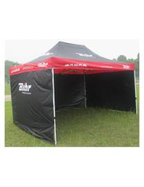 Tent paddock 3x3m Bihr with 3 removable side