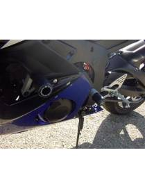Classic crash protectors (Uppers)  Yamaha YZF-R6 2003 à 2005