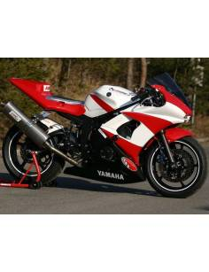 Selle racing fermée polyester Motoforza Yamaha YZF-R6 2003 à 2005