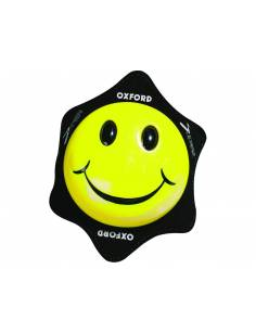 Knee sliders Oxford - Smile Yellow