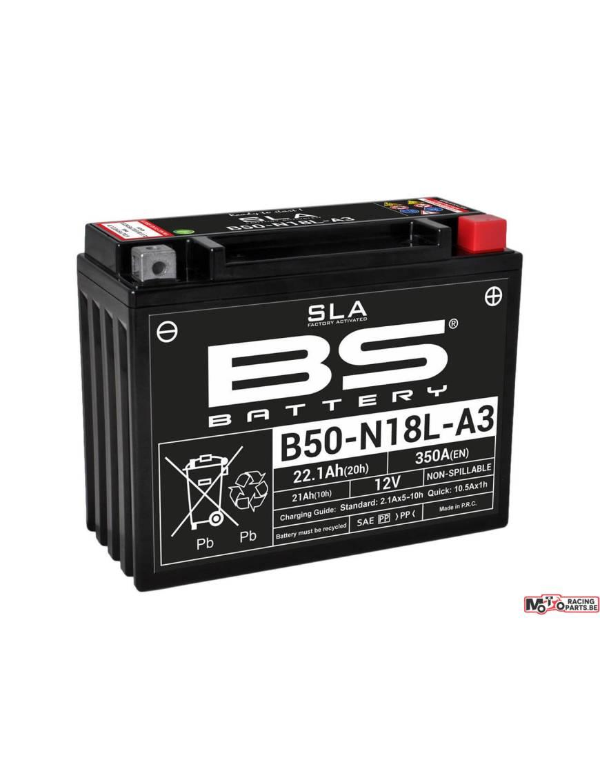 Batterie BS B50-N18L-A3 21Ah 12V 205x90x162mm