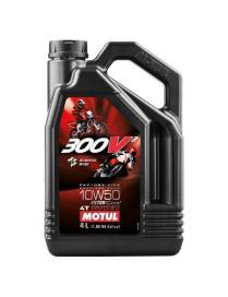 Motul 300V2 10W50 Oil 100% Synthese - 4 Liters
