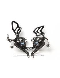 Rear set PP Tuning Triumph Speed Triple 1050 (2008-2010)
