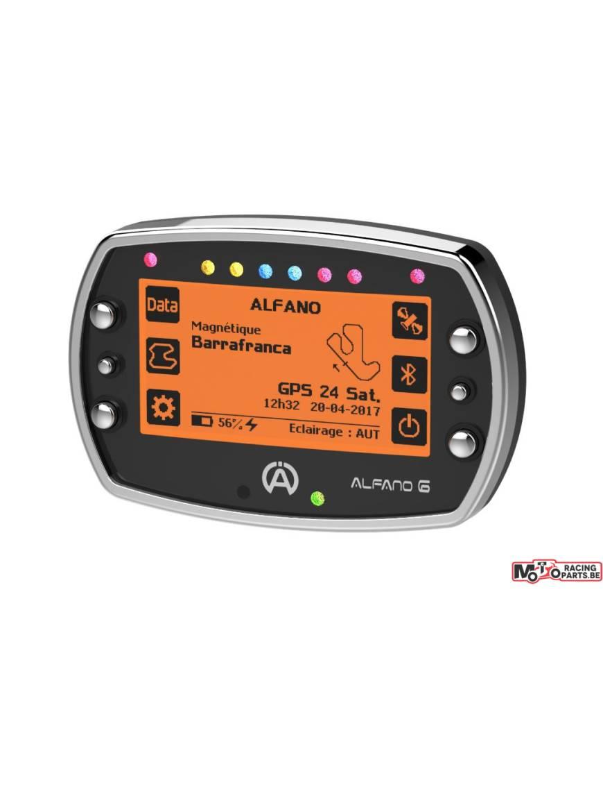 Chronomètre Alfano 6 - Télémétrie / Lap Timer / GPS - Pack 3