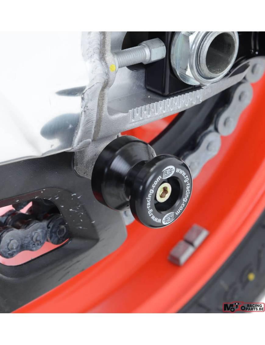 roulettes de Protection Bras Oscillant pour Suzuki GSR 750 Diabolos Carbon
