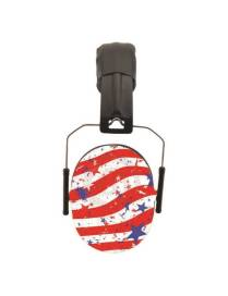 Anti-noise helmet Baby banz child 2 years old and more – Stars and stripes