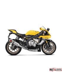 Akrapovic Slip-On Titanium Track day Yamaha YZF-R1 /R1M 2015 à 2018