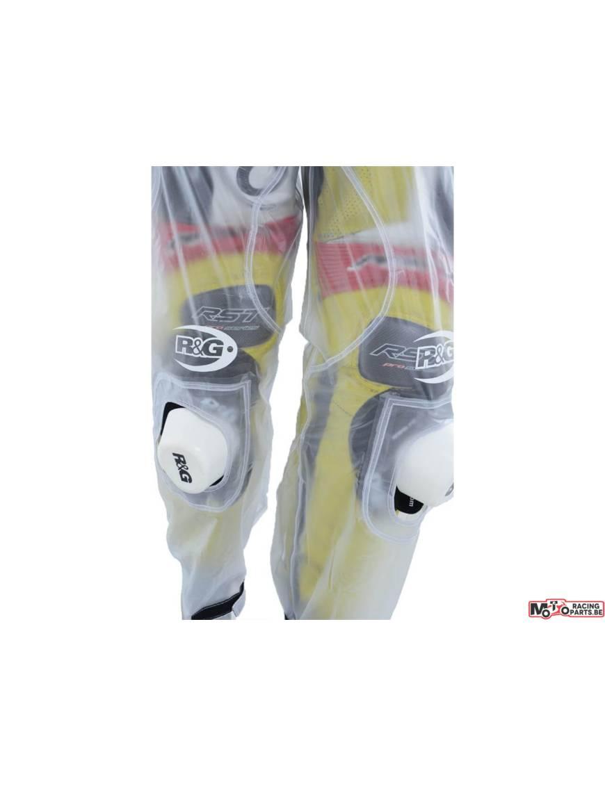 Pantalon imperméable pluie R&G Racing transparent