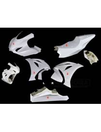 Fairings kit 5 parts Motoforza racing Suzuki GSX-R 1000R 2017 to 2019