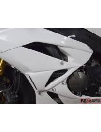 Fork head polyester fairing Motoforza Kawasaki ZX-6R 2009 to 2012