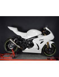 Selle racing fermée polyester Motoforza Suzuki GSX-R 1000 2017 à 2018