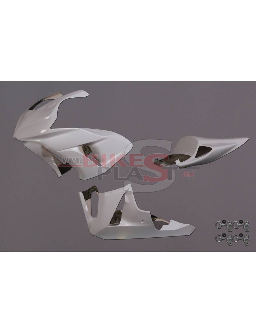 Fairings kit 3 parts BikePlast Honda CBR1000RR 2006 to 2007