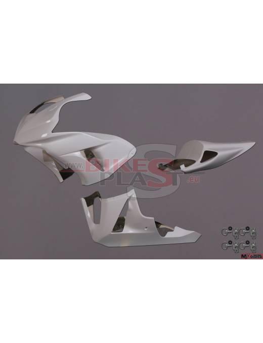 Fairings kit 3 parts BikePlast Honda CBR1000RR 2006 to 2007