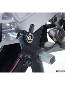 Racing swingarm spools R&G - M8 BMW S1000RR 14/18 - Triumph Street Triple