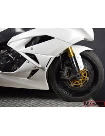 Kit carénages piste 3 pièces Motoforza Kawasaki ZX-6R 2009 à 2012