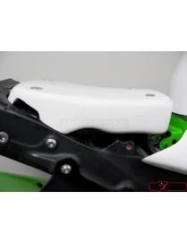 Racing seat closed polyester Motoforza Kawasaki ZX-6R 2009 to 2012