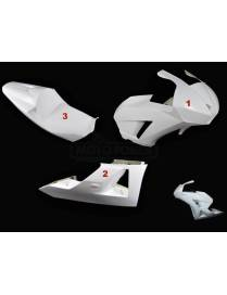 Fairings kit 3 parts HRC Motoforza Honda CBR600RR 2013 to 2018