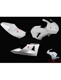 Kit carénages piste 3 HRC pièces Motoforza Honda CBR600RR 2013 à 2018