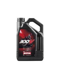 Oil Motul 300V 15W60 Off road racing - 4 Liters
