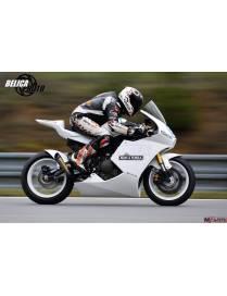 Kit carénages piste 3 pièces Motoforza Kawasaki ER-6N 2006 à 2012 SuperTwin