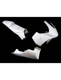 Fairings kit 3 parts Motoforza Kawasaki ER-6N 2006 to 2012