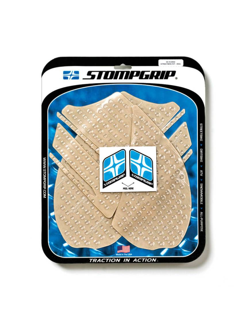 Stompgrip Traction Pads Kawasaki ZX14-R 2012 to 2018