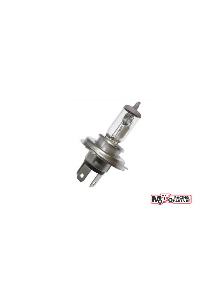 Ampoule H4 P43T 12V Blanc +50%